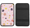 Sailor Moon Car Armrests Cover Cushion Auto Center Console Pad Seat Box Cover Protector Vehicle SUV