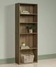 Sauder Beginnings 5-Shelf Bookcase, Summer Oak finish