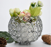 Shaell Hollow-Carved Crystal Tea Light Candlestick Candle Holders Wedding Holiday Home Garden Decor