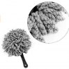 Shopping GD Multi-functional Car Duster Cleaning Dirt Dust Clean Brush Dusting Tool Mop Gray Car Cle