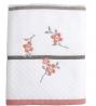 SKL HOME by Saturday Knight Ltd. Coral Garden Bath Towel, Ivory