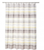 SKL Home by Saturday Knight Ltd. Spring Garden Striped Shower Curtain, Gray