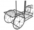 Sorbus Garden Cart Stand & Flower Pot Plant Holder Display Rack, 6 Tiers, Parisian Style - Perfect f