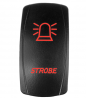 STVMotorsports 5 Pin Laser Automotive Rocker Switches On/Off LED Light 12V 20A - Interior Accessorie
