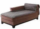 SureFit Comfort Armless Chaise Furniture Cover, Microban Antimicrobial Pet Furniture Cover