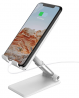 TalkWorks Cell Phone Stand Holder for Desktop Office Accessories & Home - Adjustable, Flexible, Fold