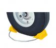 Tigerchocks AC201 Urethane Lightweight Commercial Aviation Wheel Chock, Yellow, 5.5