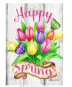 Toland Home Garden 1012301 Spring Tulips 28 x 40 Inch Decorative, (28