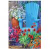 Toland Home Garden 109993 Adirondack Arrangement 28 x 40 Inch Decorative, House Flag (28