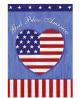 Toland Home Garden 112625 God Bless The US Flag, Garden (12.5