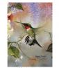 Toland Home Garden Ruby Throated Honey 12.5 x 18 Inch Decorative Flying Wing Hummingbird Spring Summ
