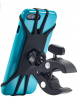 Upgraded 2021 Bicycle & Motorcycle Phone Mount - The Most Secure & Reliable Bike Phone Holder for iP