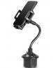 Vehicle Car Gooseneck Phone Holder Mount Cup Holder for OnePlus 9 Pro, 9, Nord N10 N100, 8 Pro, 8, G