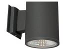Vidalite Modern Slim LED Exterior Up/Down Wall Mounted Short Cylinder Light 3000K 1400 Lumens for Ou