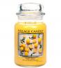 Village Candle Fresh Lemon 26 oz Glass Jar Scented Candle, Large