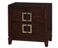William's Home Furnishing CM7385N Balfour Nightstands, Brown