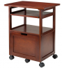 Winsome Piper Home Office, Walnut