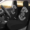 ZJLANS SONS of ANA-RCHY Comfortable Auto Seat Covers 2 Piece Universal fit for Vehicles, Sedan