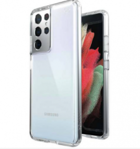 Speck Perfect Samsung S21 Ultra Phone Case - Clear