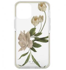Ted Baker iPhone 12 Pro Max Elderflower Phone Case - Clear