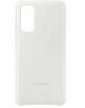 Samsung Galaxy S20FE Silicone Phone Case - White